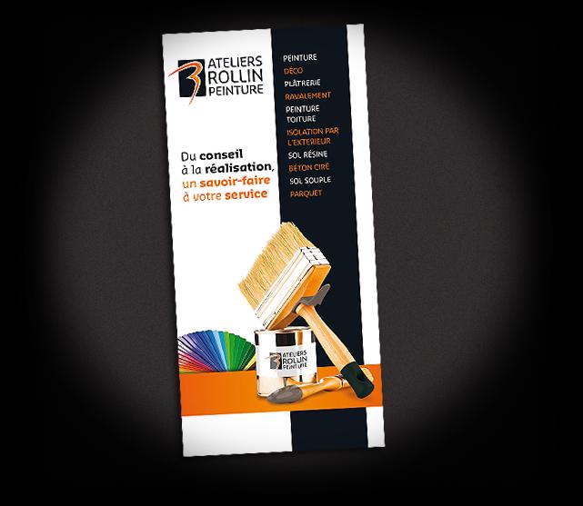 chemise, pochette, habillage vitrine, communication graphique, affiche, flyer, plaquette, brochure, kakémonos, stand, carte de visite, papeterie, dépliant, logotype, catalogue, site internet, poster
